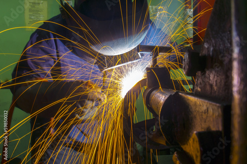 welder at workshop