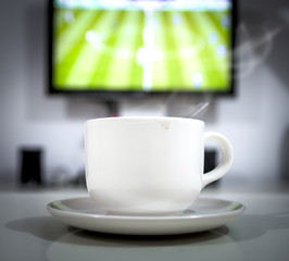 coffee drink in football live time