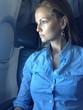 woman in plane