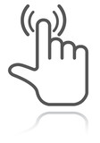 hand pointer icon