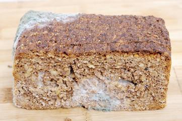 Wholemeal bread moldy