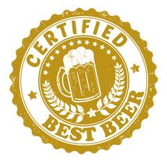 Best beer stamp