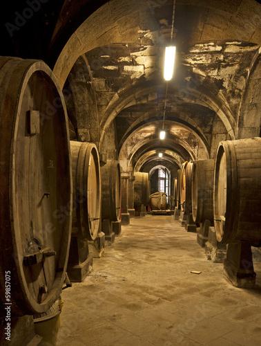 Fototapeta Wine cellar