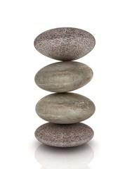 Spa stones. 3d icon