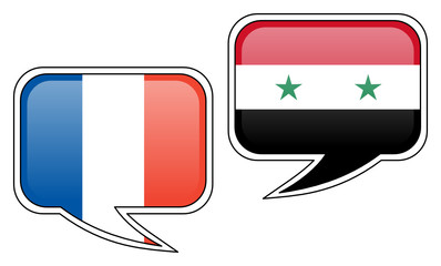 French-Syrian Conversation