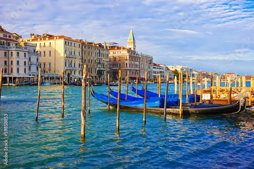 Gondolas in Venice - 59858853