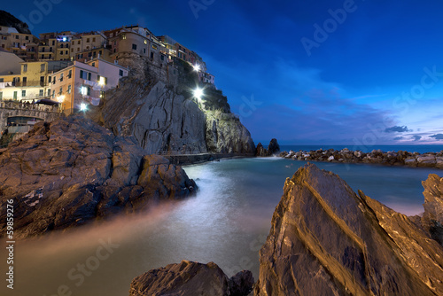 Night in Manarola ( 5 Terre )