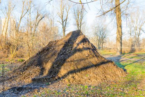 Huge Earth Pile