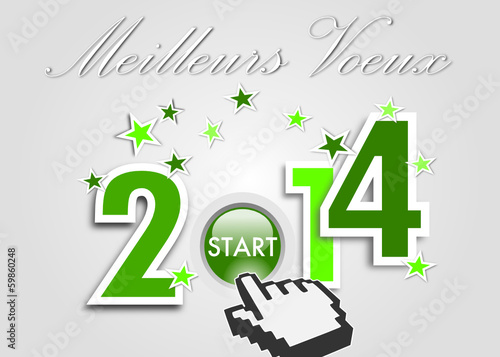 Meilleurs Voeux 2014 Vert