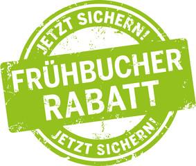 grünes Siegel Frühbucherrabatt