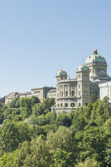 Bern, Altstadt, Bundeshaus, Schweiz