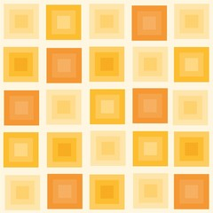 Vector illustration of seamless geometric pattern with squares