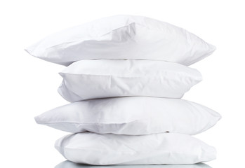 pillows, on grey background