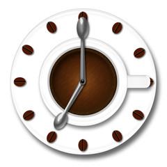 Orologio caffè