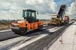 canvas print picture - Road Construction
