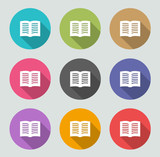 Ebook icon - Flat designs