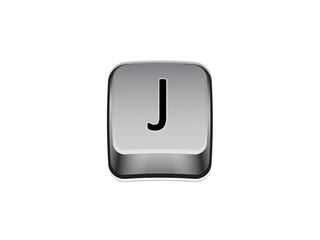 Tasto J tastiera computer