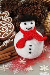 Homemade Christmas Crochet decoration