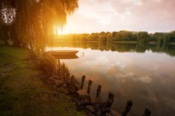 Autumn at lake