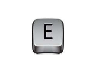 Tasto E tastiera computer