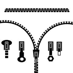 set of zipper