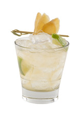 Ginger Sour Cocktail