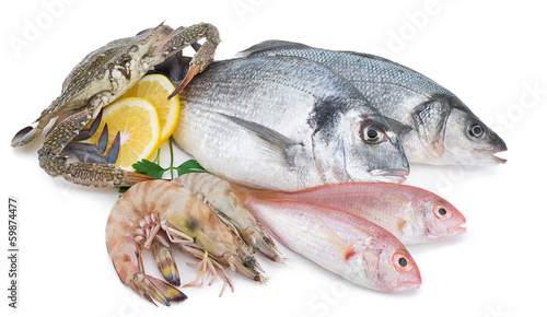 Tuinposter Vis Seafood