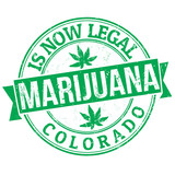 Marijuana is now legal stamp