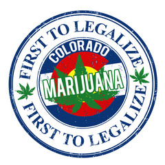 Marijuana first to legalize stamp