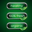 Ecology, organic icon set. Eco-icons