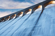 Leinwanddruck Bild - Clatteringshaws dam