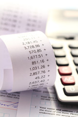 Tax Self Assessment and Accounting Calculation