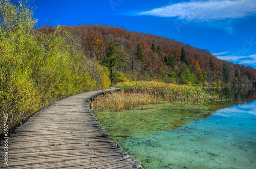 Lake Proscansko at Plitvice Lakes