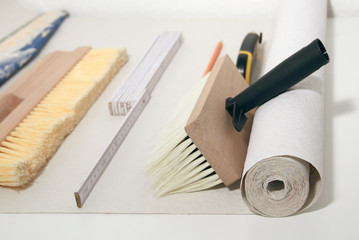 Nützliches zum Tapezieren, Renovieren, Innenausbau