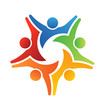 Vector logo Teamwork Achieve 5