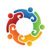 Vector Logo Team Volunteer 5