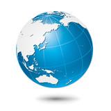 Fototapety グローバルイメージ・地球