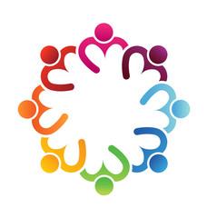 Logo Vector Business icon design. Heart sharing 8