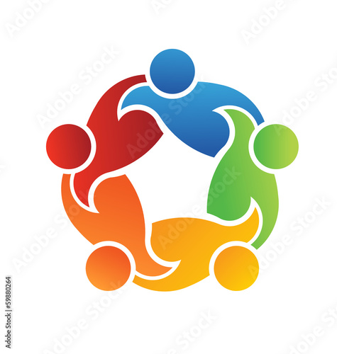 Vector logo Teamwork Support 5