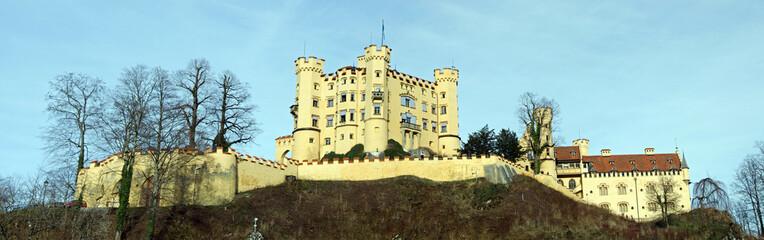 Ein Schloss in den Bergen