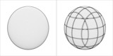 Cut Sphere From The Simple To The Complicated Vector