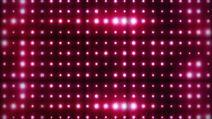 Red Wall Lights in Cubes, with Green Screen, Loop