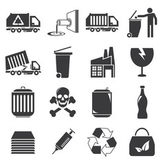 waste management icons