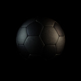 Soccer ball isolated render. Illustration