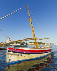 Mediterranean fishing boat.