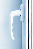 PVC window's handle