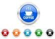coffee icon vector set
