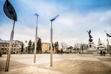 Constitution Square in Kharkiv