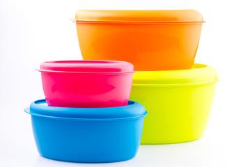 Food plastic container