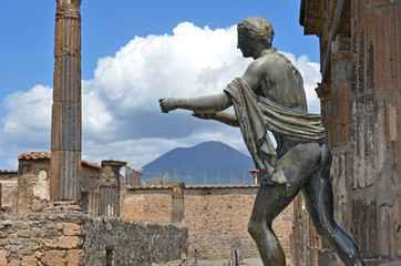 Apollo and Mount Vesuvius